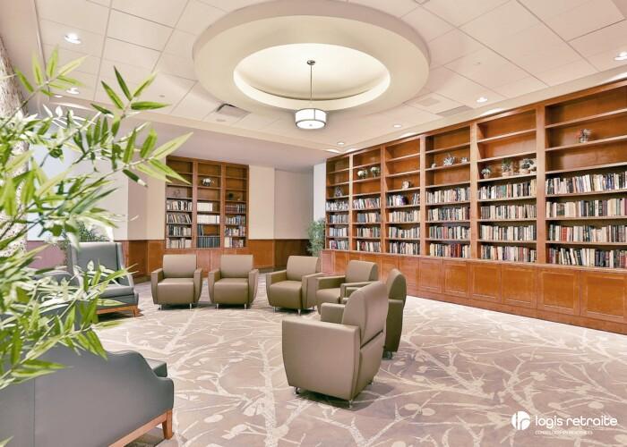 Les Résidences Soleil Manoir Brossard Bibliothèque