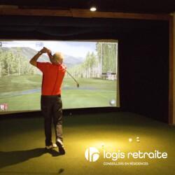 Les Résidences Soleil Manoir Brossard Simulateur de golf
