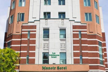 Les Résidences Soleil Manoir Sorel facade