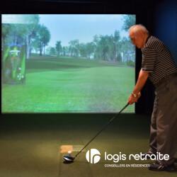 Les Résidences Soleil Manoir Sainte-Julie Simulateur de golf