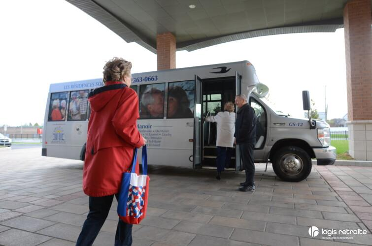 Les Résidences Soleil Manoir Sainte-Julie Minibus