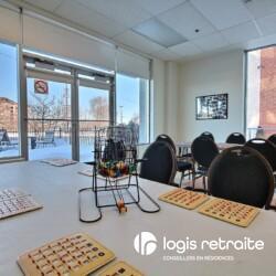 salle de bingo résidence pour personnes âgées